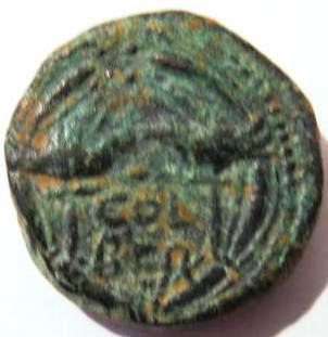 Roman Bronze Beirut City Adrian Coin Archaeology