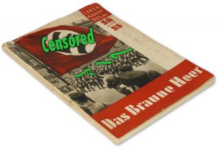 Adolf Hitlers Army Documentary Book w Heinrich Hoffmann Photos German
