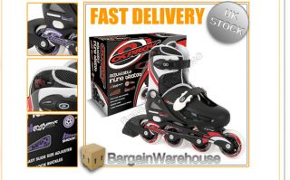 Osprey Adjustable Boys Girls 4 Wheel Inline Roller Skates Blades Sizes