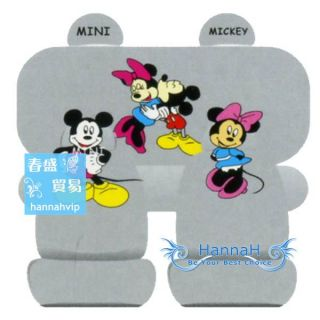10 pcs Mickey & Minnie Mouse CAR SEAT COVERS WA139 268