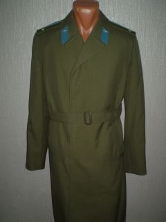 USSR Soviet Air Force Military Uniforms Overcoat Lieutenant Officer