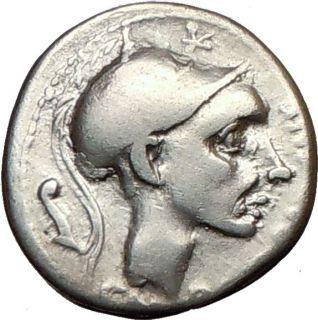 Roman Republic Coin Oscipio Africanus Punic War General