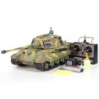 product 1 16 matorro german king tiger tank production turret