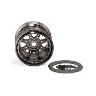 Axial 40 Series Beadlock 8 Spoke Black Chrome Wheels