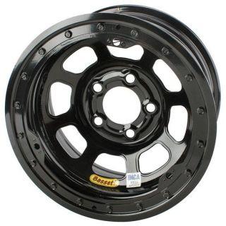 15 x 8 Bassett 5 on 4 75 D Hole Beadlock IMCA Wheel 3 Offset