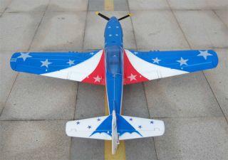 4CH P51 Mustang Warbird RC RTF Airplane Brushless Motor+Lipo Battery