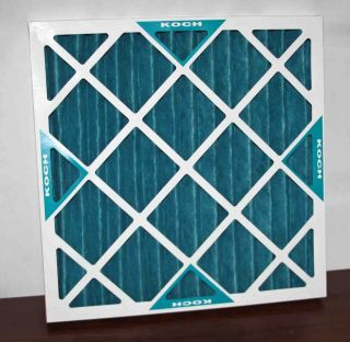 11 KOCH Pleated Furnace AC Air Conditioner Filters 20x20x2 102 700 019
