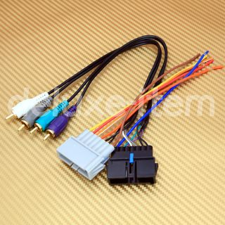 Wiring Harness for Installing Aftermarket Car Stereo Radio