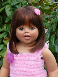 MASTERPIECE DOLLS ALANA BRUNETTE BY MONIKA PETER LEICHT IN STOCK