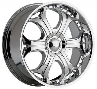 22 Akuza 504 Spur 6x5 5 Tahoe Escalade Entourage Chrome Wheels Rims