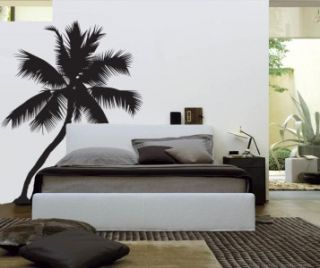 Palm Tree Silhouette   Vinyl Wall Decal Sticker