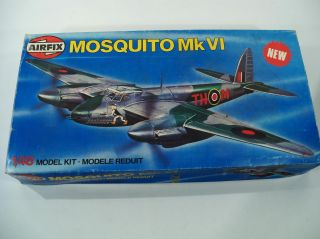 Airfix Mosquito MK VI 1 48 Scale Model Airplane Kit 07100 0