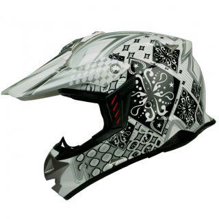 PGR SX01 Magic Black Motocross MX Enduro Dirt Bike Buggy ATV Quad Dot