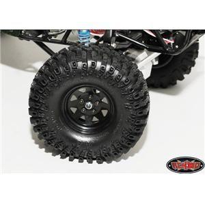 Scale Crawler 5 Lug Wagon Style Beadlock Wheels by RC4WD (Black)