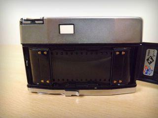 Agfa Silette Rapid I Prontor 125 35mm Film Camera Vintage Leather Case