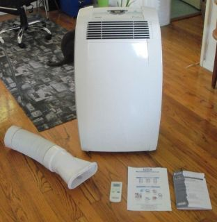 DeLonghi PACC120E Air Conditioner 12000 BTU portable on wheels remote