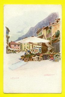 Art Postcard Italie Italy Lecco SG Redmond Year 1900