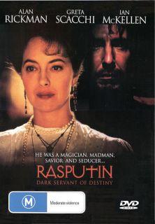 DVD Rasputin 1996 Greta Scacchi Alan Rickman Ian McKellen Uli Edel Dir