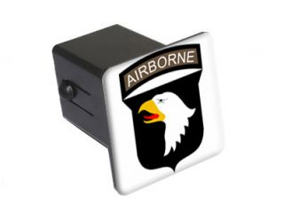 US Army Airborne 2 Tow Trailer Hitch Cover Plug Insert