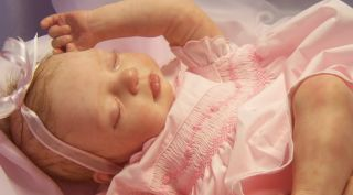 Reborn Baby Anya Oh So Real Baby Girl Doll Amazing Realism Tummy Plate