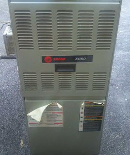 Trane 80 Efficient Natural Gas 100 000 Btu Forced Air Furnace