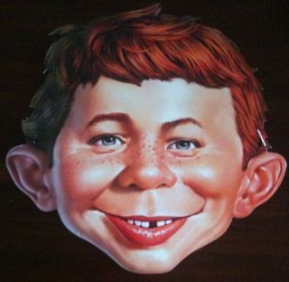 Alfred E Newman Collector Mask New SDCC 2012 Exclusive Mad Magazine