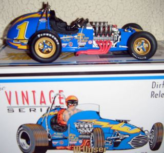 GMP 1 18 1 Al Unser Johnny Lightning Special Dirt Champ Race Car 6 In