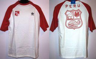Adidas Originals Peru T Shirt Polo Seleccion Peruana FPF Marca Peru