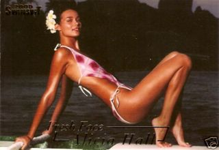 Sports Illustrated Alicia Hall Fresh Face Insert 2