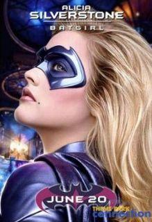 Batman & Robin BATGIRL Alicia Silverstone Original Movie Mask Screen