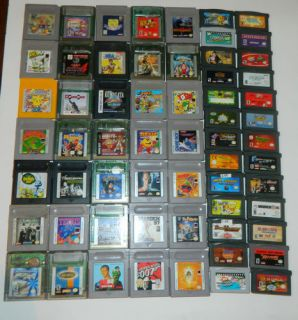 Game Boy Games Your Pick What Game You Want