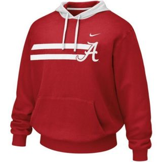 Alabama Crimson Tide Bump N Run Nike Hoodie Sweatshirt Pullover Mens