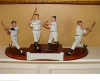 Danbury Mint New York Yankee Legends Figurine Figure Statue Sculpture