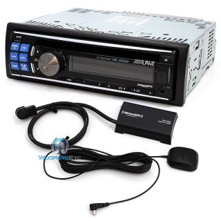 Alpine CDE 124SXM CD Stereo XM Sirius Tuner Included USB Aux iPod