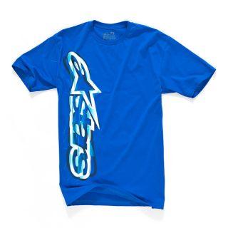 Alpinestars Algorithm Classic Tee Shirt Black Blue T Shirt