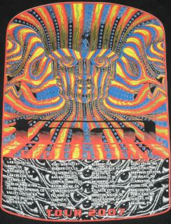Tool 10 000 Days 2007 Tour XL T Shirt Alex Grey Vajra Being