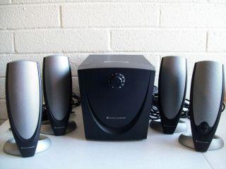 Altec Lansing ADA745 Computer Speaker System w Subwoofer