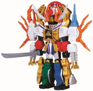 Power Rangers Deluxe Megazord Samurai Gigazord Brand New SEALED Ships