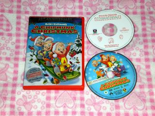 Alvin and the Chipmunks   A Chipmunk Christmas (DVD/ CD, 2006, 2 Disc