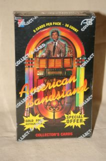 1993 Dick Clarks American Bandstand Collector Cards 36 Packs 8 Cards