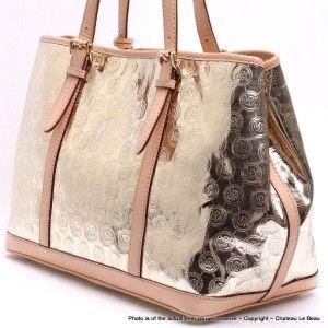 Michael Kors Amagansett Mirror Monogram Tote Bag EUC