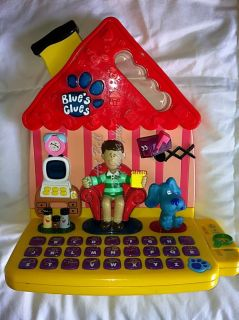 Blues Clues Learning Alphabet Spelling Toy RARE and in Good Condition