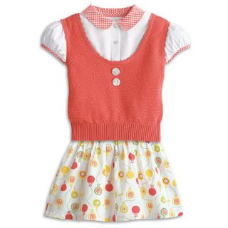 American Girl Bitty Babys Twins Birthday Party Outfit Girls Size