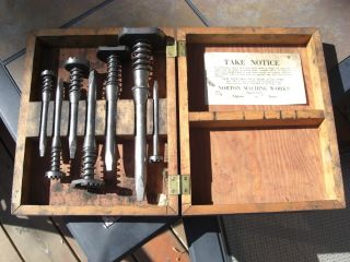 Norton Machine Tools Vintage Original Norton Machine Works Algona Iowa