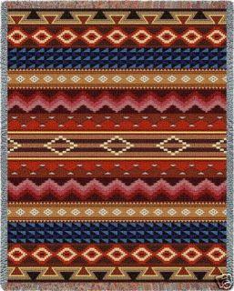 Native American Indian Tapestry Blanket Afghan Throw