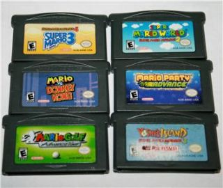 stores viewstore aspx lot of 6 game boy advance ds sp all mario games