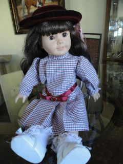 VINTAGE OLDER ALL ORIGINAL AMERICAN GIRL DOLL SAMANTHA WITH