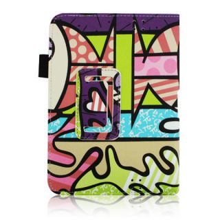 New Kindle Fire HD 7 inch PU Leather Case Cover Skin Stand Wake Sleep