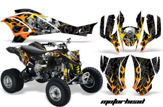 AMR ATV Quad Graphics Kit Can Am DS450 DS450X BRP Part
