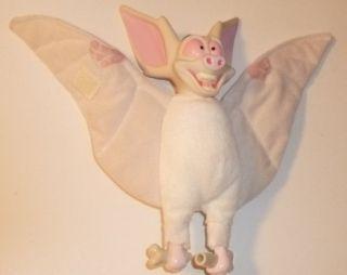 1997 ANASTASIA plush BARTOK Bat TALKING doll 8 , PRE OWNED